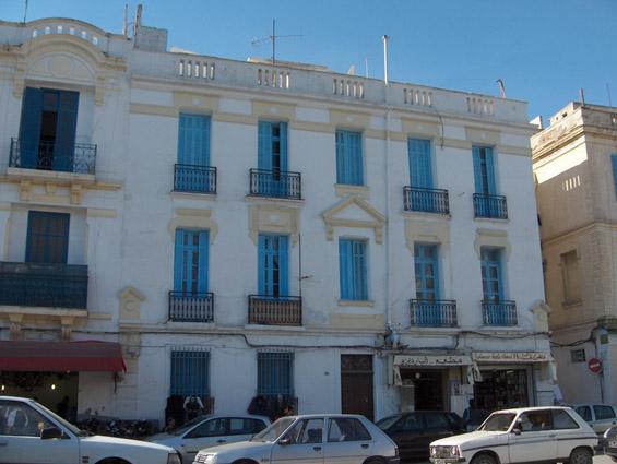 Maîtres dœuvre italiens et immeubles de rapport à tunis à la fin